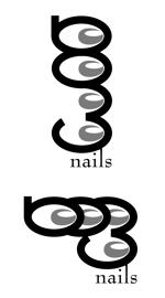 parlor_boyさんのネイルサロンのロゴデザインへの提案