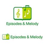 tsujimoさんのウェブサイト「Episodes & Melody」のロゴへの提案