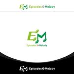 arca-designさんのウェブサイト「Episodes & Melody」のロゴへの提案