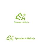 marutsukiさんのウェブサイト「Episodes & Melody」のロゴへの提案