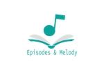 hatopoppo_810さんのウェブサイト「Episodes & Melody」のロゴへの提案