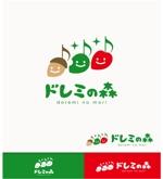 kR-designさんの障がい児童の音楽療育施設「どれみの森」のロゴ制作への提案