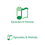 torifupさんのウェブサイト「Episodes & Melody」のロゴへの提案