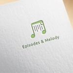 m_sobeautさんのウェブサイト「Episodes & Melody」のロゴへの提案