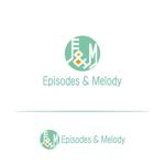 tom-hoさんのウェブサイト「Episodes & Melody」のロゴへの提案