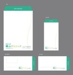 jpccleeさんのクリニックで使用する封筒のデザインへの提案