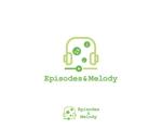 tyapaさんのウェブサイト「Episodes & Melody」のロゴへの提案
