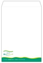 zazahさんのクリニックで使用する封筒のデザインへの提案