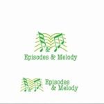 agnesさんのウェブサイト「Episodes & Melody」のロゴへの提案