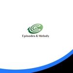 ark-mediaさんのウェブサイト「Episodes & Melody」のロゴへの提案