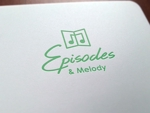 ALTAGRAPHさんのウェブサイト「Episodes & Melody」のロゴへの提案