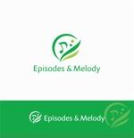 Doing1248さんのウェブサイト「Episodes & Melody」のロゴへの提案