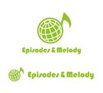 waami01さんのウェブサイト「Episodes & Melody」のロゴへの提案