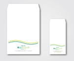 merankoさんのクリニックで使用する封筒のデザインへの提案