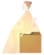 よもぎ蒸し座浴器の使用方法を説明するイラストの作成の事例 実績 提案一覧 Id イラスト制作の仕事 クラウドソーシング ランサーズ