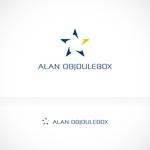 blockdesignさんの美肌ブランドのロゴ「ALAN OBJOULEBOX」への提案