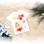 MAYA22さんの女性Tシャツデザインへの提案