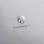 doremidesignさんの床施工会社「Astech Design Inc.」のロゴへの提案