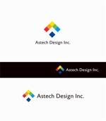 Doing1248さんの床施工会社「Astech Design Inc.」のロゴへの提案