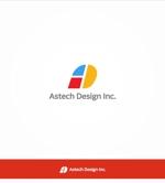 enj19さんの床施工会社「Astech Design Inc.」のロゴへの提案