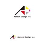 Scene-Zさんの床施工会社「Astech Design Inc.」のロゴへの提案