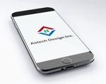 FISHERMANさんの床施工会社「Astech Design Inc.」のロゴへの提案