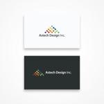 yybooさんの床施工会社「Astech Design Inc.」のロゴへの提案