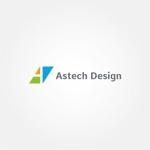 tanaka10さんの床施工会社「Astech Design Inc.」のロゴへの提案