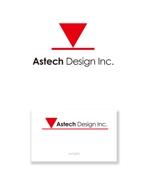 serve2000さんの床施工会社「Astech Design Inc.」のロゴへの提案