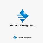 rgm_mさんの床施工会社「Astech Design Inc.」のロゴへの提案