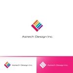 red3841さんの床施工会社「Astech Design Inc.」のロゴへの提案