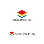 kyo-meiさんの床施工会社「Astech Design Inc.」のロゴへの提案