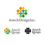 24taraさんの床施工会社「Astech Design Inc.」のロゴへの提案