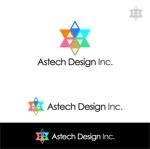 ys-design_2017さんの床施工会社「Astech Design Inc.」のロゴへの提案