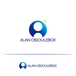 tom-hoさんの美肌ブランドのロゴ「ALAN OBJOULEBOX」への提案