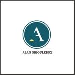 magodesignさんの美肌ブランドのロゴ「ALAN OBJOULEBOX」への提案