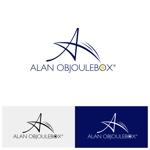 nobyamさんの美肌ブランドのロゴ「ALAN OBJOULEBOX」への提案