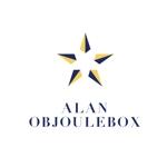 B-Mountainさんの美肌ブランドのロゴ「ALAN OBJOULEBOX」への提案