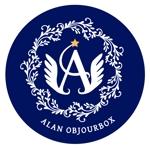 michimkさんの美肌ブランドのロゴ「ALAN OBJOULEBOX」への提案