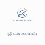 itohsyoukaiさんの美肌ブランドのロゴ「ALAN OBJOULEBOX」への提案