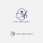 drkigawaさんの美肌ブランドのロゴ「ALAN OBJOULEBOX」への提案