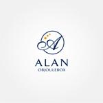 tanaka10さんの美肌ブランドのロゴ「ALAN OBJOULEBOX」への提案