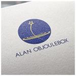 dee0802さんの美肌ブランドのロゴ「ALAN OBJOULEBOX」への提案