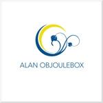 d-o2さんの美肌ブランドのロゴ「ALAN OBJOULEBOX」への提案