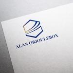 maruo_maruiさんの美肌ブランドのロゴ「ALAN OBJOULEBOX」への提案