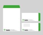 coniferさんの会社で使用する封筒のデザインへの提案