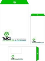 aoieagr-ikさんの会社で使用する封筒のデザインへの提案