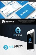take5-designさんの太陽光発電工事 REPROS(リプロス)のロゴへの提案