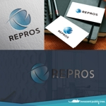 nekosuさんの太陽光発電工事 REPROS(リプロス)のロゴへの提案