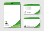 merankoさんの会社で使用する封筒のデザインへの提案